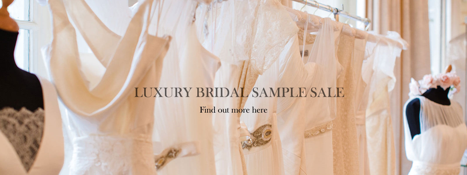 Sanyukta Shrestha extends Wedding Dress Sample Sale for Valentines Day!