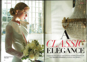 Wallis gown in Perfect Wedding Magazine