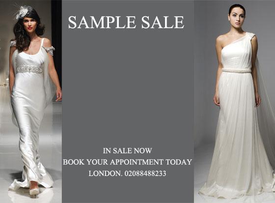 Pronovias oseleta sampe sale lace bodice low waisted wedding dress.