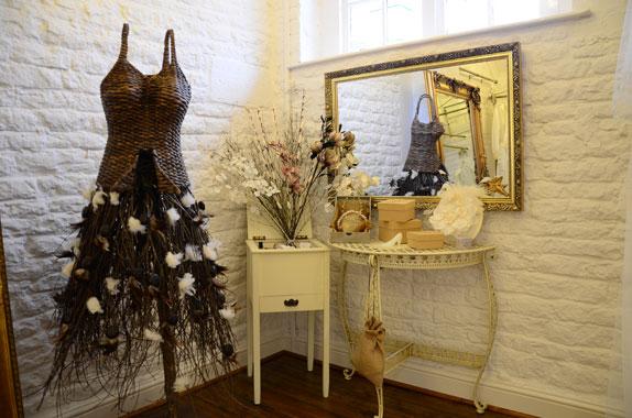 Vow Bridal Shop Decor Vintage Style Wedding Dresses Designer