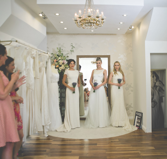 Behuli Bridal Shop Fulham Vintage Style Wedding Dresses Designer