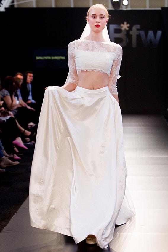 Petal Wedding Dress - Eco Goddess