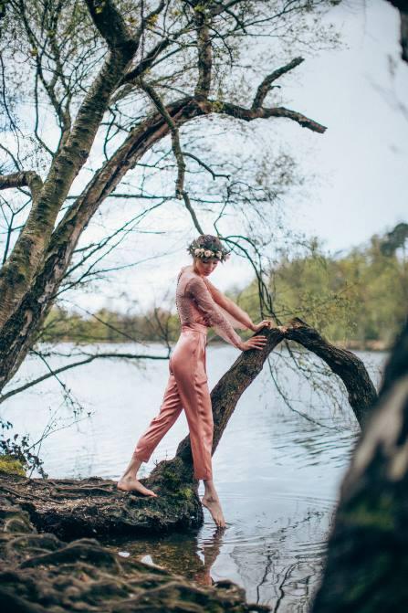 Sanyukta_Shrestha-pink-lace-jumpsuit