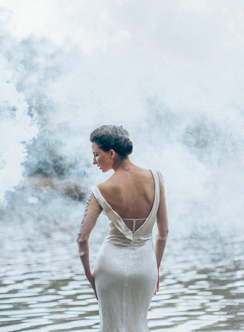 Diphylleia Wedding Dress