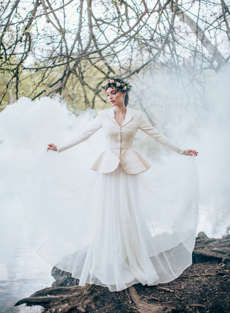 Edelweiss Ensemble wedding dress