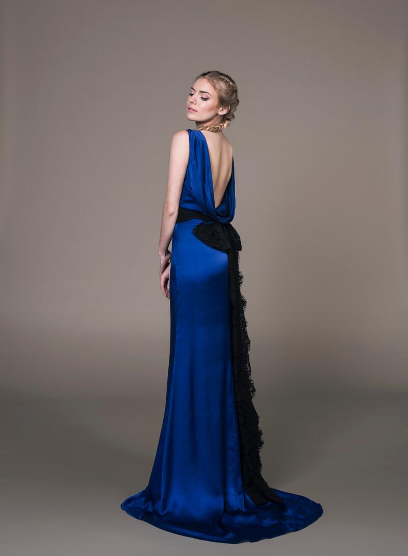 Abby Blue Evening Wear