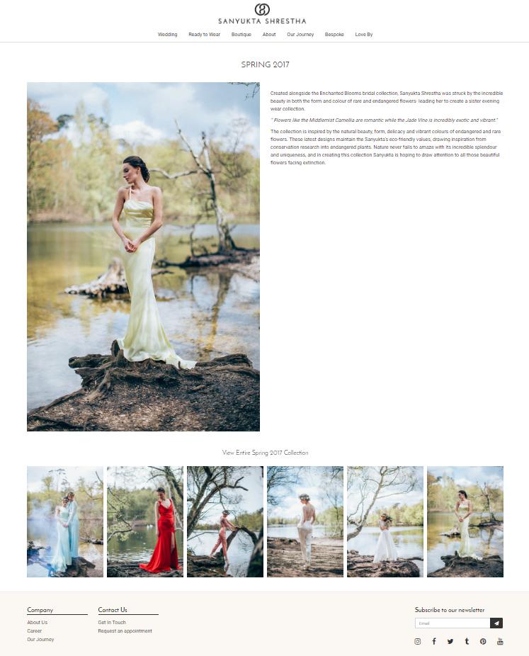 sanyukta-shrestha-ready-to-wear-launch-new-website