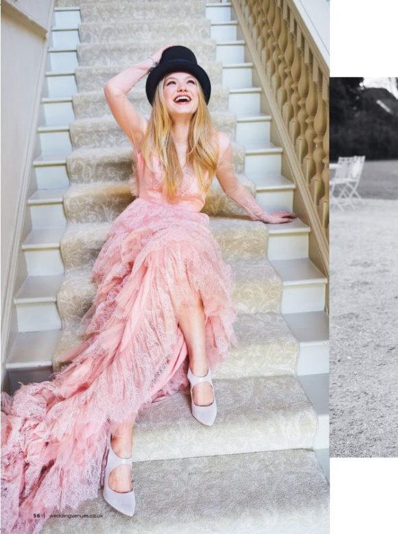 Wedding venues-Pink eartha gown