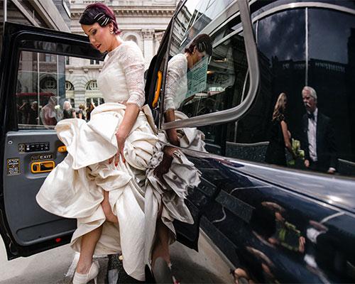 Fashion Forward Bride In Her Elegant London Wedding