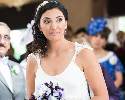 Mint Green and Lavender Wedding Perfect for an Ethical Bride