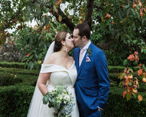 Luxury elegance for the naturally curvy bride