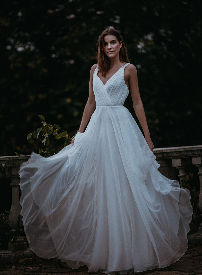 Gaia wedding dress
