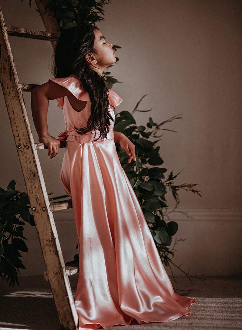 Maple Flower Girl dress