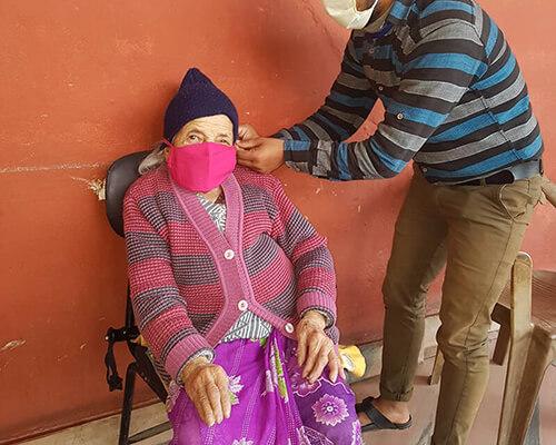 Sanyukta Shrestha introduces Nepal Covid-19 relief project #MaskforSmile