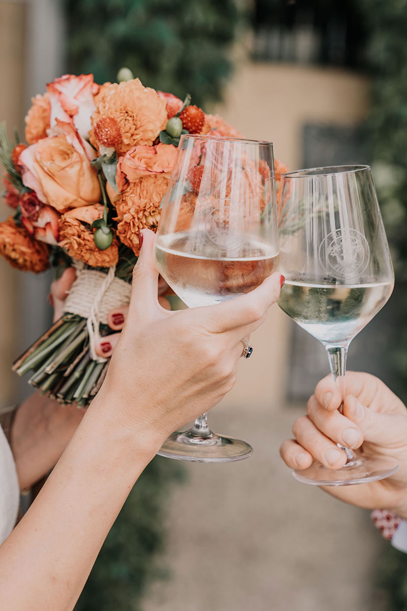 wedding-celebration-orange-flowers