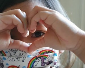 Tiny hands serves higher Purpose: 5 year-old Ameya  sews Rainbow Masks for NHS Heroes