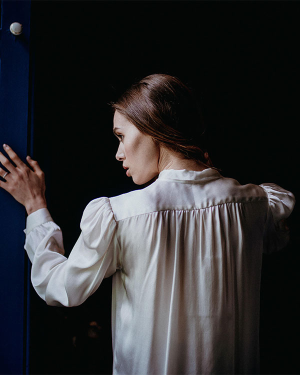 Dexa Silk Blouse Shirt