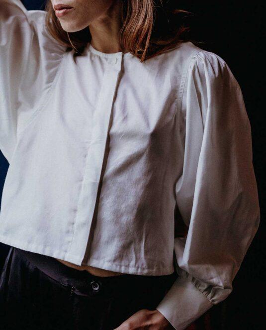 Palisha Organic Cotton Top Blouse