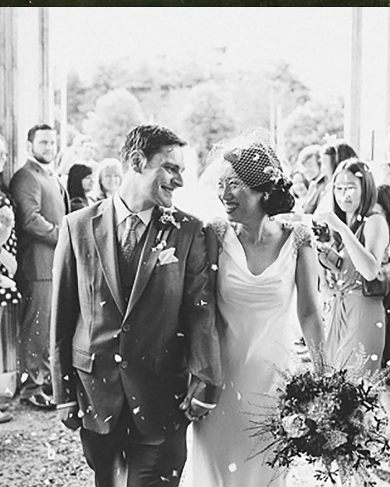 Sanyukta Shrestha Chinese Bride weds english groom