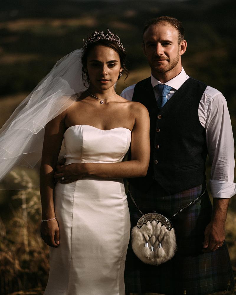 Sanyukta Shrestha Indian bride Silk Wedding dress