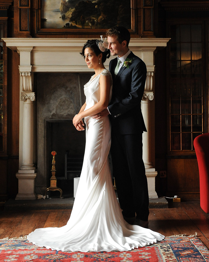 Sanyukta Shrestha Made to Order Wedding Dress multicultural wedding