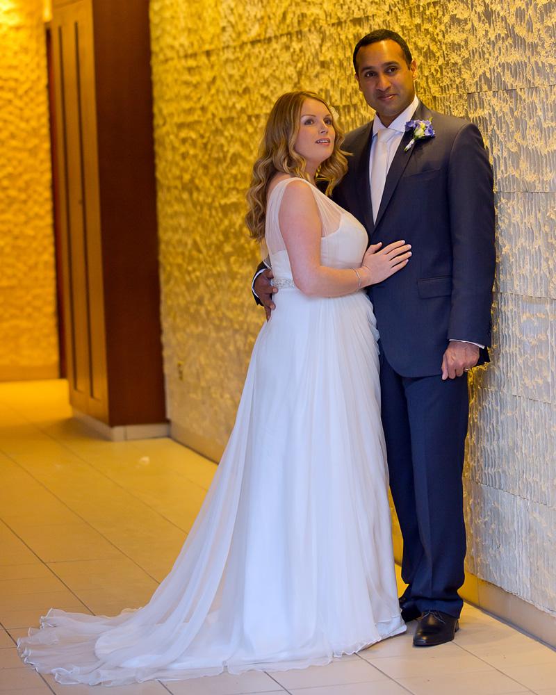 Sanyukta Shrestha plus size wedding dress