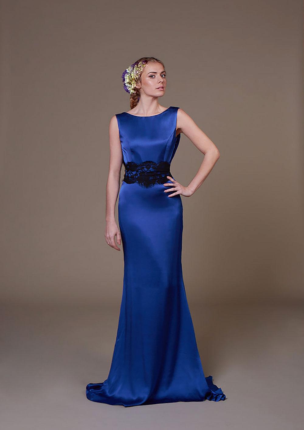 Abby Silk gown