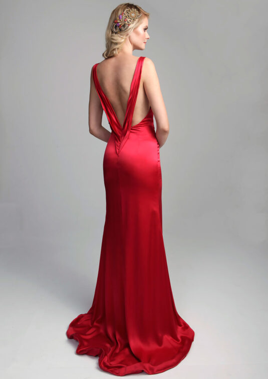 Lapageria Silk gown