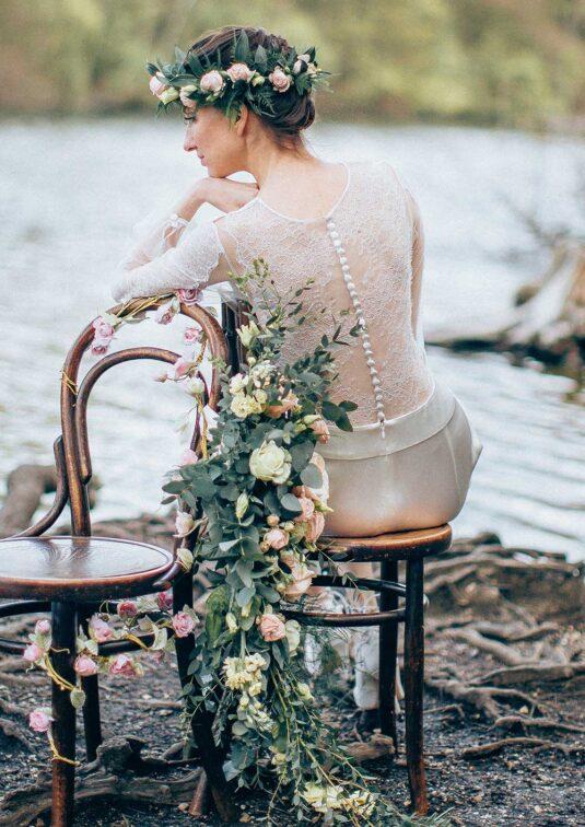 Middlemist Bridal Jumpsuit