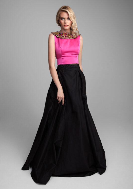 Lilian Silk Skirt