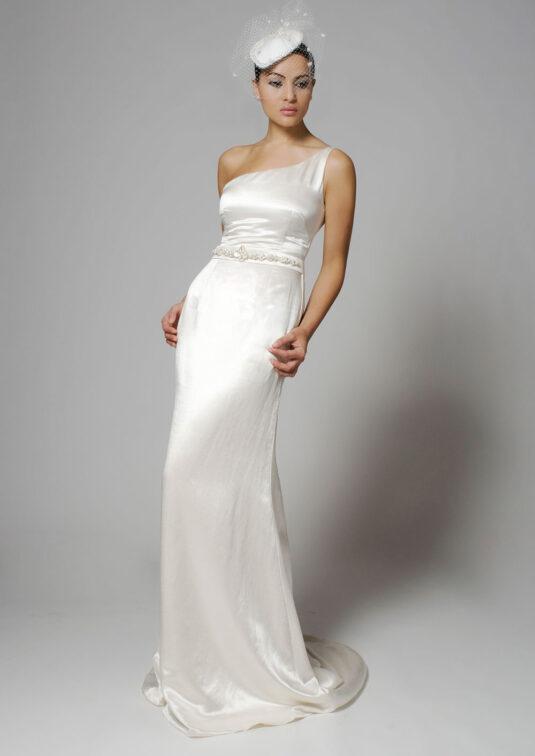 Sage Wedding gown
