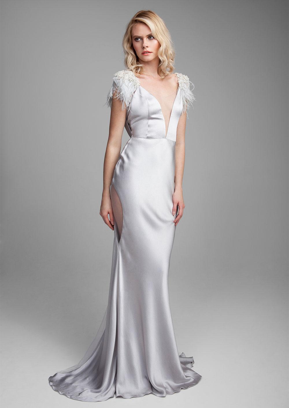 Cordellia Silk gown