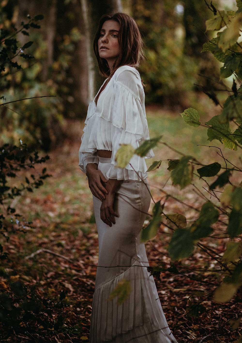 Aspen Bridal Top and skirt