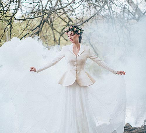 handmade sustainable designer wedding dress