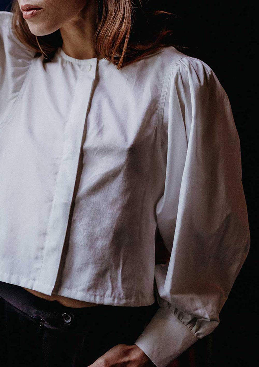 Palisha sustainable organic cotton blouse top