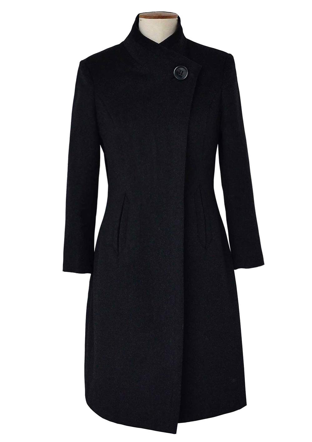 black-cashmere-designer-coat-petite