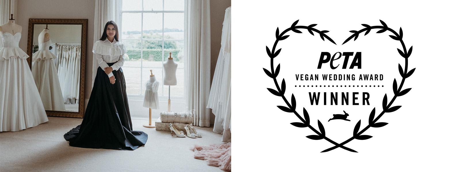 SANYUKTA SHRESTHA – Winner of LUXURY AWARD, PETA VEGAN WEDDING AWARD 2021